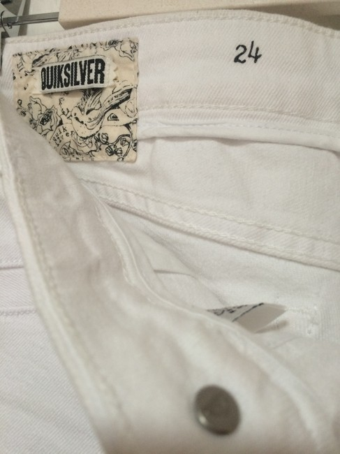 Quiksilver Rosegold Hardware Front Pockets Straight Leg Jeans-Light Wash