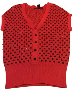 Marc by Marc Jacobs Top Red Black
