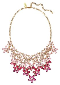 Kate Spade Kate Spade Ombre Bouquet Necklace NWT RARE! Pink Swarovski