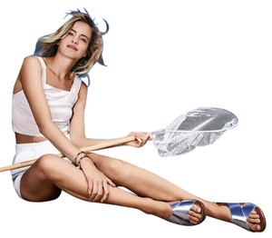 FitFlop Silver Sandals