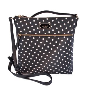 Kate Spade Keisha Dot Print Nylon Cross Body Bag