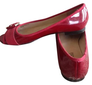 MICHAEL Michael Kors Patent Leather Red Flats