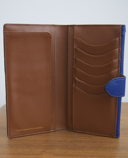 Ralph Lauren Blue Leather Ralph Lauren Wallet