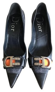 Dior Denim Blue Pumps