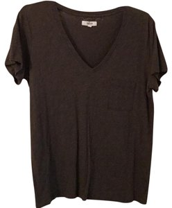Madewell T Shirt Olive Green