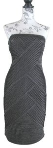 Adrianna Papell Party Formal Glitter Bodycon Dress