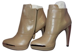 Hervé Leger New Leather Beige Boots