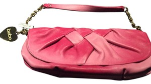 bebe Ombre Charms Pink Ombre Clutch