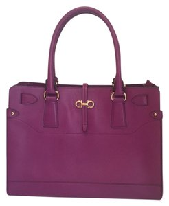 Salvatore Ferragamo Satchel in Magenta Pink