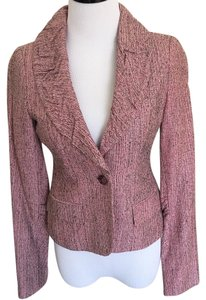 Laundry by Shelli Segal Black, pink Blazer