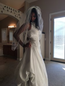 David's Bridal W62025 Wedding Dress