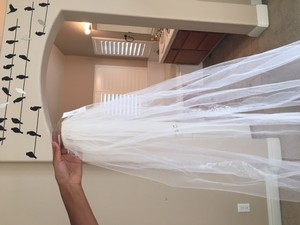 David's Bridal Brand New Veil- Tag Still On