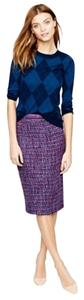 J.Crew Skirt purple and blue tweed