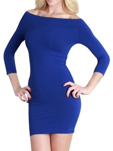 Nikibiki short dress Blue Off Seamless High Quality on Tradesy