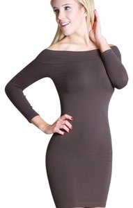 Nikibiki short dress Gray on Tradesy