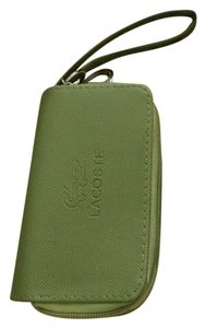 Lacoste Lacoste 3 Piece Set Wristlet w/ Key Clips, Wallet, ID & Business Card