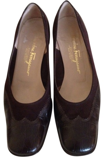 Preload https://img-static.tradesy.com/item/2017595/salvatore-ferragamo-brown-leather-and-suede-flats-formal-shoes-size-us-9-regular-m-b-0-0-540-540.jpg