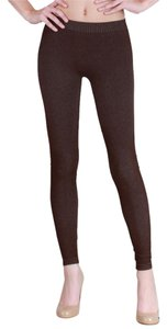 Nikibiki High Quality Seamless Two Tone Brown Leggings