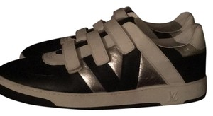 Louis Vuitton Black, White ans Silver Athletic