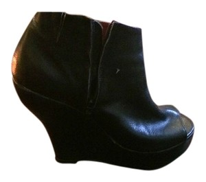 Jeffery Campbell Black Wedges