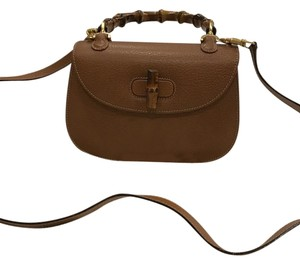 Gucci Limited Bamboo Handle Cross Body Bag