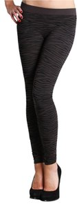 Nikibiki Zebra High Quality Seamless Gray Leggings
