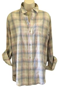Current/Elliott Button Down Shirt Pink