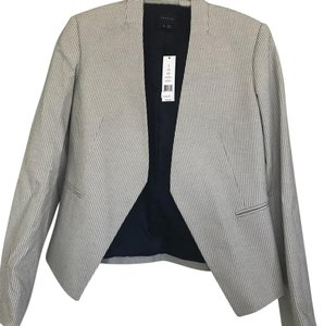 Theory Blue/white Blazer