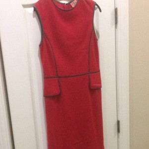 Tory Burch short dress Cherry Wine / Coconut on Tradesy