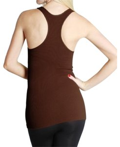 Nikibiki Racerback Top Brown