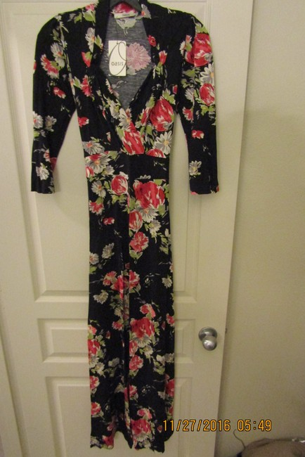 Black Multi Maxi Dress by Oasis Floral Sexy Maxi Romantic Dolce&gabbana Image 2