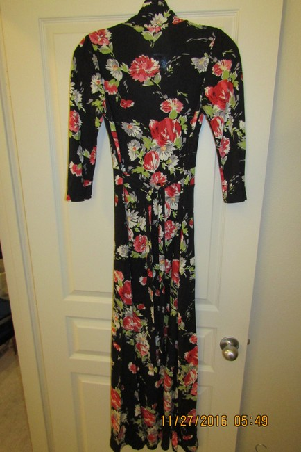 Black Multi Maxi Dress by Oasis Floral Sexy Maxi Romantic Dolce&gabbana Image 5