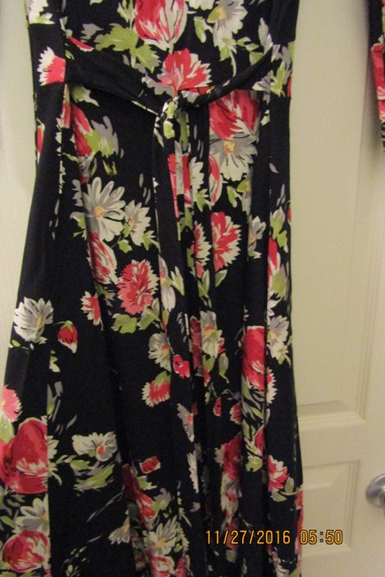 Black Multi Maxi Dress by Oasis Floral Sexy Maxi Romantic Dolce&gabbana Image 9