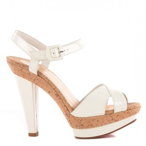 Christian Louboutin Stiletto Sandal White Designer Pumps