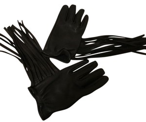 Limited Edition Coach Gloves with Fringe Size M-L