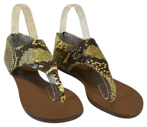 Vicini Yellow Sandals