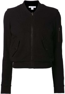James Perse Bomber Black Jacket