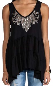 Free People #freepeople #tradesy Top Black