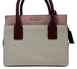 Kate Spade Crossbody Leather Nwt Satchel in Pink Bonnet / Gold