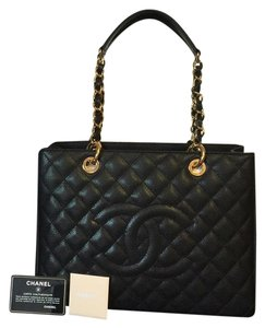 Chanel Grand Shopper Gst Tote in Black