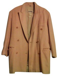 Jil Sander Vintage Cashmere Double Breasted Italy Coat