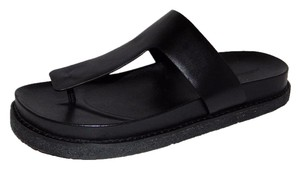 Alexander Wang Agnes Thong Black Sandals