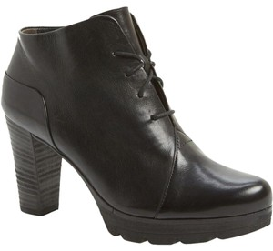 Paul Green Fiona Lace Up Black Boots