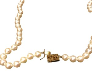 Mikimoto Mikimoto Pearl With Gold Clasp 26