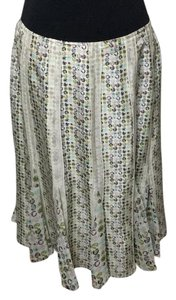Isabella Bird Skirt Ivory/multi