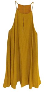 Zara short dress Yellow on Tradesy
