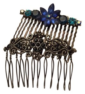 Other Vintage Hair Comb Rhinestone Crystal Clips