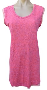 Maison Scotch short dress Pink T Shirt Mini Cotton Knit Size Small 1 J'adore Mon Tee on Tradesy