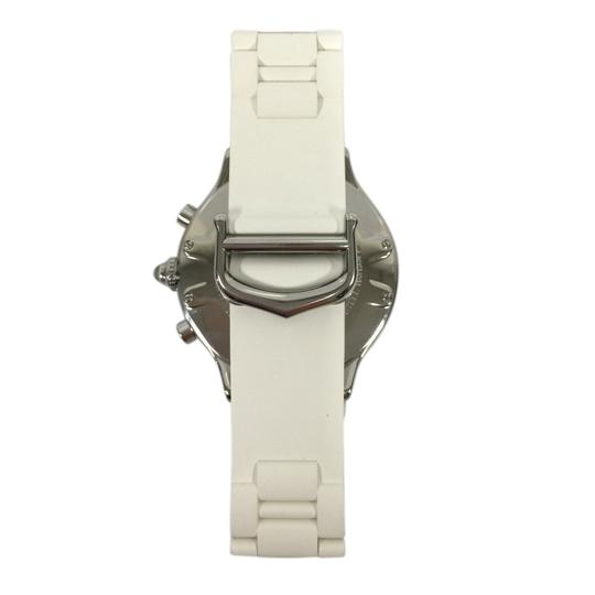 Cartier Cartier Stainless Steel & White 38MM Rubber Must 21 Chronoscaph Vintage Image 1