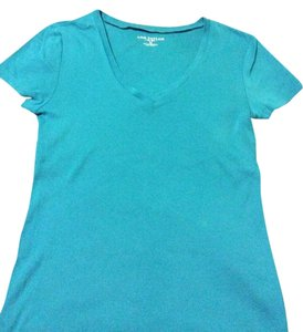 Ann Taylor T Shirt Turquoise